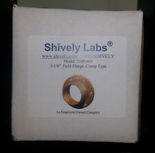 "Shively Labs 318F-901 3-1/8"" Field Flange, Clamp Type"