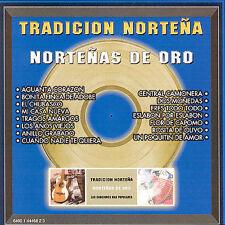 Tradicion Nortena : Nortenas De Oro CD