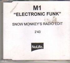 (DO737) M1, Electronic Funk - 2000 DJ CD