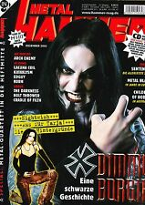 Magazin Metal Hammer 12/2005Dimmu Borger,Him,Arch enemy,Nightwish,Darkness