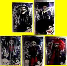 Bleeding Edge Goths Series 1 Goth 5 Doll 12 Inch Set  New from 2003