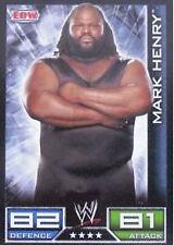 Official WWE Slam Attax - Mark Henry ECW Card