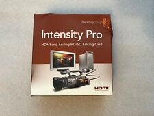 BLACK MAGIC DESIGN INTENSITY PRO HDMI ANALOG HD/SD EDITING CARD(Brand New)