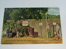 Vintage Postcard Old Jail St Augustine FL Moonshine Still 30742