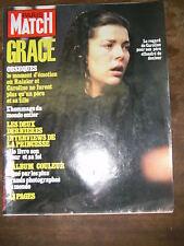 Paris Match N° 1740 1/10/1982 Obsèques de Grace Kelly Monaco Prince Rainier