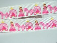 Princess Carriage Ribbon, Boutique Bow, Hairbows, Scrapbooking, Craft, Bows 2y