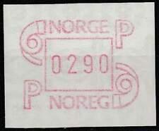Noorwegen postfris automaatzegels 1986 MNH A3 (07)