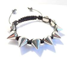 A Rock-Chic Spike Cone Stud Shamballa Bracelet Making Kit - Unisex - lady-muck1