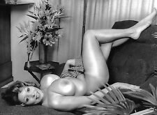 Vintage Yvette Connors 60s Large Breasts Posing Nude Pinup 8 x 10 Photograph