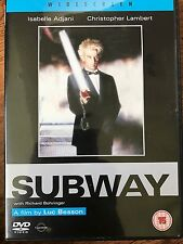 Christopher Lambert SUBWAY ~ 1985 Besson French Rare English Language UK DVD