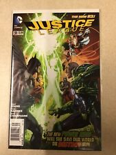 JUSTICE LEAGUE # 31 NEWSSTAND VARIANT EDITION NEW 52 FIRST PRINT DC COMICS