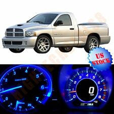Fit Dodge Ram 1500 02 06 35pcs Instrument Gauge Dash Blue Light Climate Led Kit