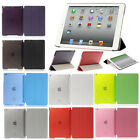 For iPad Mini 1 2 3 iPad 2 3 4 5 6 Air 2 Back Case Magnetic Leather Smart Cover