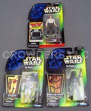 Star Wars PotF Han Solo in Carbonite Death Star Gunner & Sandtrooper Kenner '96