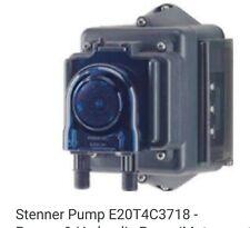 STENNER Econ E20T4C37 TD Pump FKM 35.76 GPD 5 PSI 120/60HZ Electric NEW In Box