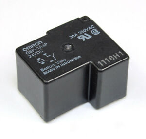 Omron Relay 24vdc SPST G8P-1A4P-24VDC NO 30A, 250VAC, (1 Form A)