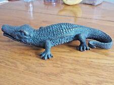 Bronze Alligator Sculpture Statue Textured Highly Detailed