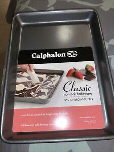 Calphalon Classic Bakeware 9-by-13-Inch Rectangular Nonstick Brownie Pan