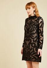 Modcloth Seine My Love To You Dress NWT 2 fits 6 Sheath $190 Adrianna Papell bl