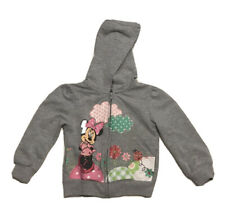 Toddler Hooded Disney Minnie Mouse Jacket Gray