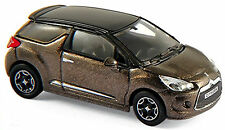 Citroën DS 3 Limousine 2010-15 Brun Brown métallique 1:87 NOREV
