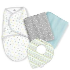SwaddleMe Sweet Dreams 4-Piece Baby Swaddle Gift Set - Sky's the Limit New Wrap