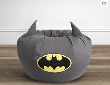 "Pottery Barn Kids Anywhere Beanbag Slip Cover Only Batman 31"" NEW"