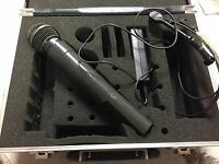 Shure SM58 Digital Wireless System With Samson ST-2 VHF FM Transmitter