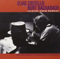 Painted from Memory by Elvis Costello/Burt Bacharach (CD, Sep-1998, Mercury)