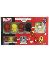 Kidrobot Marvel Munny Super Hero Combo Power Pack Spider-Man Venom New In Box