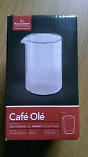 Replacement Grunwerg Glass Beaker for Classic 3 Cup Cafetiere