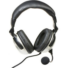 New! Avid Education CD-858MF Gaming Headset with Microphone (No Box)