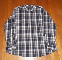 Eddie Bauer Size 2XL Mens Button Down Shirt Long Sleeve Cotton XXL