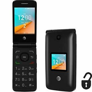 Brand New Factory Unlocked  GSM Flip Basic Phone Bluetooth 4G AT&T T-Mobile