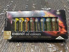 Rembrandt Oil Colour Set of 10 15ml Tubes