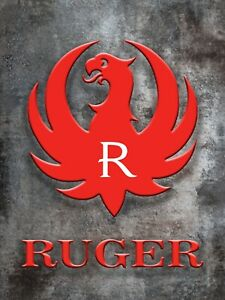 Vintage Ruger Signs 8x10