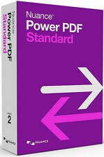 Nuance Power PDF Standard 2.0 - New Retail Box AS09A-G00-2.0