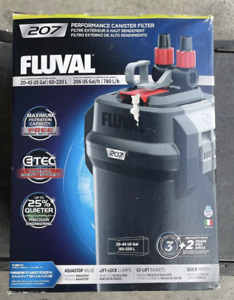 Fluval | 207 Performance Canister Filter NEW DAMAGE BOX