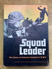 VINTAGE AVALON HILL 1977 SQUAD LEADER BOARD GAME CIB RARE