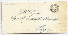 BB546-SICILIA-SETTEMBRE 1860-LETTERA DA PALERMO A POLIZZI