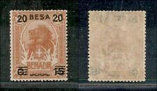 Colonies Somalia - 1923 - 20 BESA on 15 Cent on 2 Anna Lion (40) - MNH