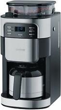 Severin KA 4812 Thermo-Kaffeeautomat Mahlwerk Edelstahl/schwarz Kaffeemaschine