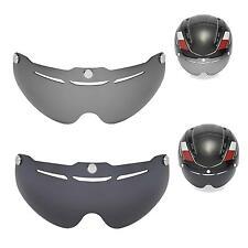 New Walleva Polarized Black + Titanium Lenses For Giro Air Attack Helmet