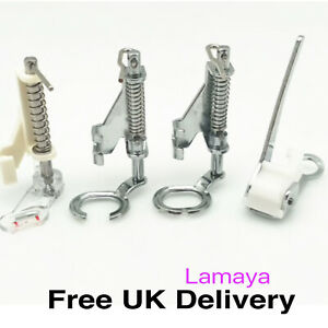 4 x Darning Foot Presser Foot, Closed & Open Toe Quilting Foot, Embroidery Feet