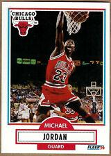 Michael Jordan 1990-91 Fleer NM/MT Uncorrected Error Card #26