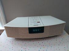 New listing Bose Wave Radio / Am Fm Alarm Clock Model Awr1-1W Works Great * No Remote *