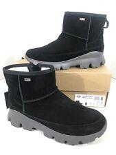 Ugg Palomar Sneaker Women's Sz 8 Black Suede WP Chunky Sole Winter Boots X1-191