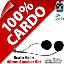 Cardo Scala Rider 40 mm Juego de altavoces Freecom Smartpack PackTalk G9x G9 G4 Q3 Q1 Qz