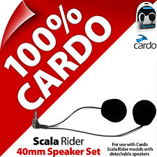 Cardo Scala Rider 40mm Speaker Set Freecom SmartPack PackTalk G9x G9 G4 Q3 Q1 Qz