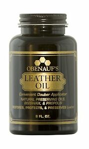 Obenauf's Leather Oil - 8 oz- Made in the USA!